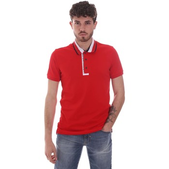 Textiel Heren Polo's korte mouwen Gaudi 111GU64105 Rood