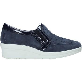 Schoenen Dames Instappers Enval 7271122 Blauw
