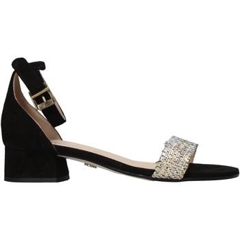 Schoenen Dames Sandalen / Open schoenen Carmens Padova 43117 Zwart