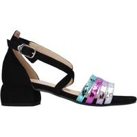Schoenen Dames Sandalen / Open schoenen Carmens Padova 45060 Zwart