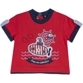 Textiel Kinderen T-shirts korte mouwen Chicco 09067162000000 Rood