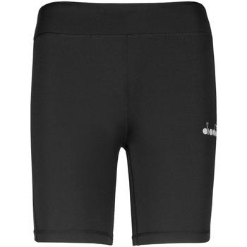 Textiel Dames Korte broeken / Bermuda's Diadora 102176130 Zwart