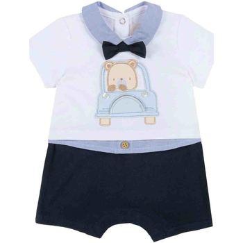 Textiel Jongens Jumpsuites / Tuinbroeken Chicco 09050851000000 Blauw