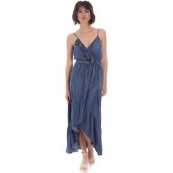 Textiel Dames Lange jurken Gaudi 111BD16003 Blauw