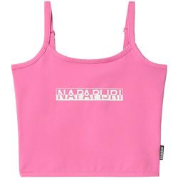 Textiel Dames Mouwloze tops Napapijri NP0A4FHI Roze