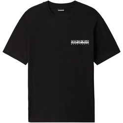 Textiel Heren T-shirts korte mouwen Napapijri NP0A4F4R Zwart