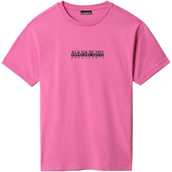Textiel T-shirts korte mouwen Napapijri NP0A4FF5 Roze