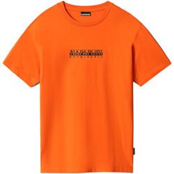 Textiel Dames T-shirts korte mouwen Napapijri NP0A4FF5 Oranje