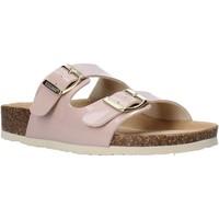 Schoenen Dames Leren slippers Bionatura 94THESISD-VERCIP Roze
