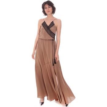 Textiel Dames Lange jurken Cristinaeffe 0704 2498 Beige
