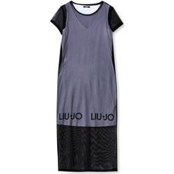 Textiel Dames Lange jurken Liu Jo TA1139 J6187 Zwart