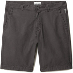 Textiel Heren Korte broeken / Bermuda's Napapijri NP0A4F9V Grijs