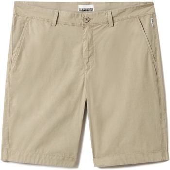Textiel Heren Korte broeken / Bermuda's Napapijri NP0A4F9V Beige
