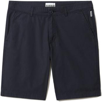 Textiel Heren Korte broeken / Bermuda's Napapijri NP0A4F9V Blauw