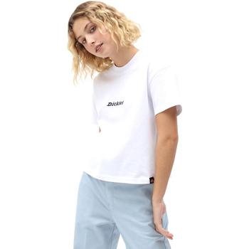 Textiel Dames T-shirts korte mouwen Dickies DK0A4XBAWHX1 Wit