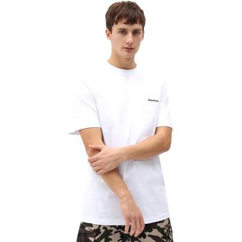 Textiel Heren T-shirts korte mouwen Dickies DK0A4X9OWHX1 Wit