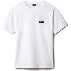 Textiel T-shirts korte mouwen Napapijri NP0A4FG8 Wit