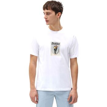 Textiel Heren T-shirts korte mouwen Dickies DK0A4X9IWHX1 Wit