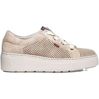 Schoenen Dames Lage sneakers CallagHan 14929 Beige