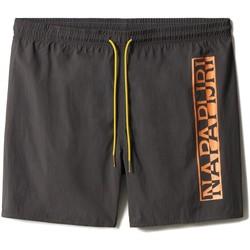 Textiel Heren Zwembroeken/ Zwemshorts Napapijri NP0A4F9S Grijs