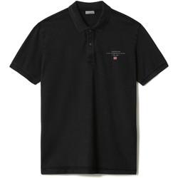 Textiel Heren Polo's korte mouwen Napapijri NP0A4FA2 Zwart