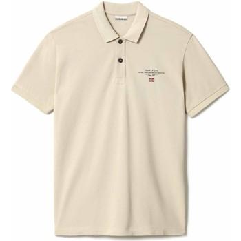 Textiel Heren Polo's korte mouwen Napapijri NP0A4FA2 Beige
