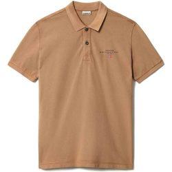 Textiel Heren Polo's korte mouwen Napapijri NP0A4FA2 Bruin
