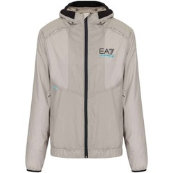 Textiel Heren Wind jackets Ea7 Emporio Armani 3KPB22 PN1GZ Beige