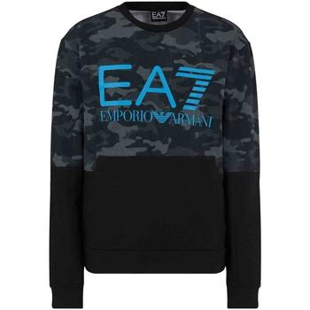Textiel Heren Sweaters / Sweatshirts Ea7 Emporio Armani 3KPM43 PJ5BZ Zwart
