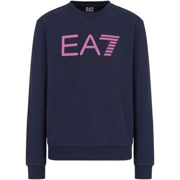 Textiel Heren Sweaters / Sweatshirts Ea7 Emporio Armani 3KPME9 PJASZ Blauw