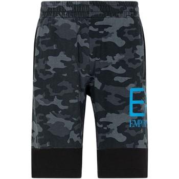 Textiel Heren Korte broeken / Bermuda's Ea7 Emporio Armani 3KPS60 PJ5BZ Zwart