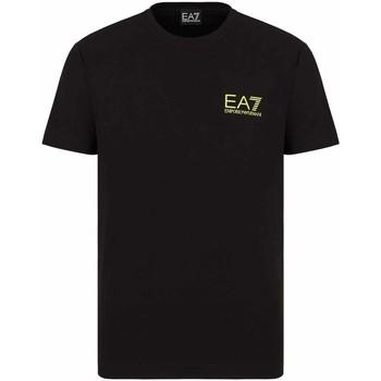 Textiel Heren T-shirts korte mouwen Ea7 Emporio Armani 3KPT06 PJ03Z Zwart