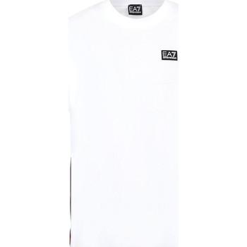 Textiel Heren T-shirts korte mouwen Ea7 Emporio Armani 3KPT13 PJ02Z Wit