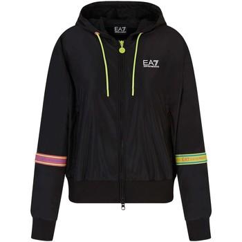 Textiel Dames Jacks / Blazers Ea7 Emporio Armani 3KTB31 TN18Z Zwart