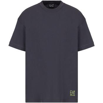 Textiel Heren T-shirts korte mouwen Ea7 Emporio Armani 3KPT58 PJ02Z Grijs