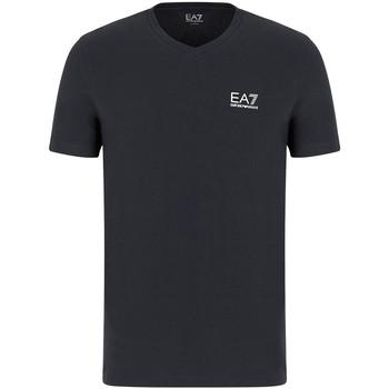 Textiel Heren T-shirts korte mouwen Ea7 Emporio Armani 8NPT53 PJM5Z Grijs