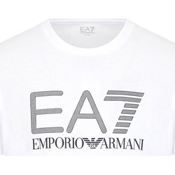 Textiel Heren T-shirts korte mouwen Ea7 Emporio Armani 3KPT81 PJM9Z Wit