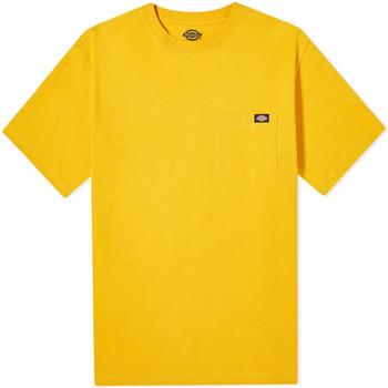 Textiel Heren T-shirts korte mouwen Dickies DK0A4TMOB591 Geel