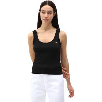 Textiel Dames Mouwloze tops Dickies DK0A4XB9BLK1 Zwart