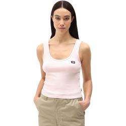 Textiel Dames Mouwloze tops Dickies DK0A4XB9LPI1 Roze