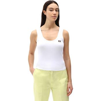 Textiel Dames Mouwloze tops Dickies DK0A4XB9WHX1 Wit