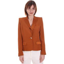Textiel Dames Jasjes / Blazers Cristinaeffe 0306 2545 Bruin