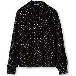 Textiel Dames Overhemden Liu Jo WA1188 T4820 Zwart