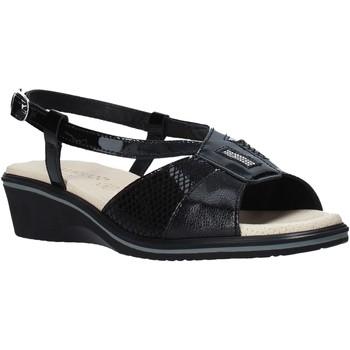 Schoenen Dames Sandalen / Open schoenen Susimoda 270414 Zwart