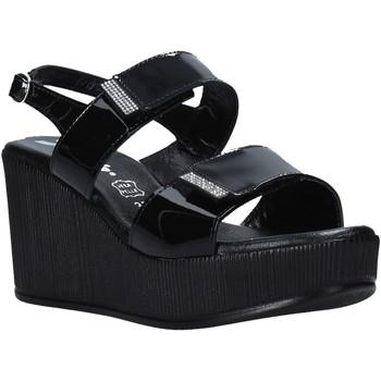 Schoenen Dames Sandalen / Open schoenen Susimoda 390241 Zwart