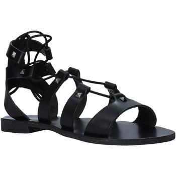 Schoenen Dames Sandalen / Open schoenen Keys K-4880 Zwart