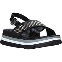 Schoenen Dames Sandalen / Open schoenen Keys K-4952 Zwart