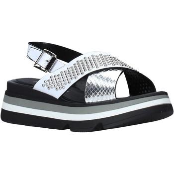 Schoenen Dames Sandalen / Open schoenen Keys K-4952 Wit