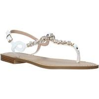Schoenen Dames Sandalen / Open schoenen Keys K-5100 Wit