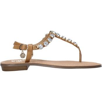 Schoenen Dames Slippers Gold&gold A21 GL618 Bruin